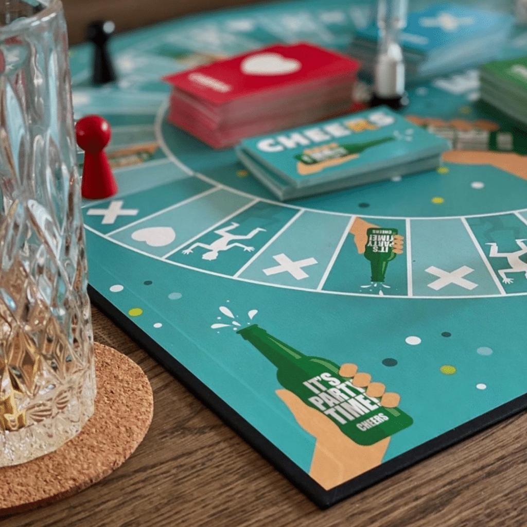 Cheersspillet - Brætspil